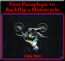 First Paraplegic Motorcross Backflip